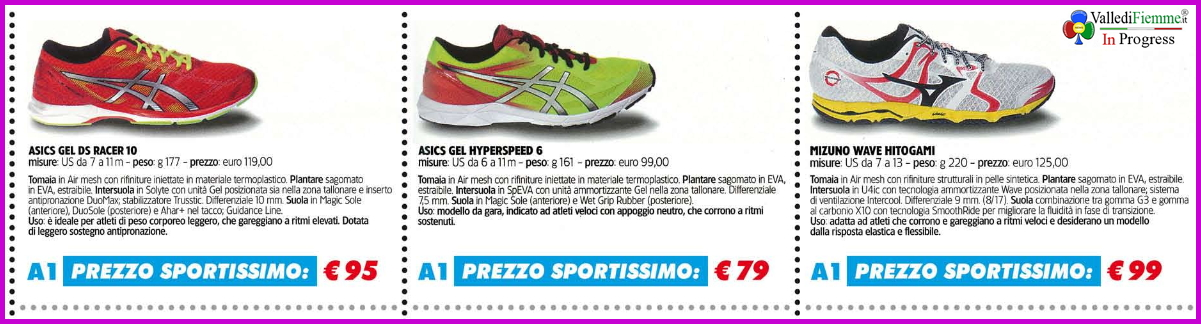 sportissimo scarpe a1 Predazzo, Mizuno Day da Sportissimo