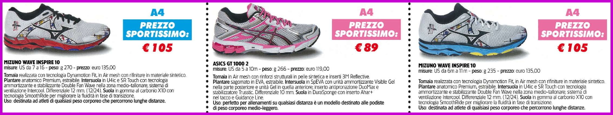 sportissimo scarpe a4 Predazzo, Mizuno Day da Sportissimo