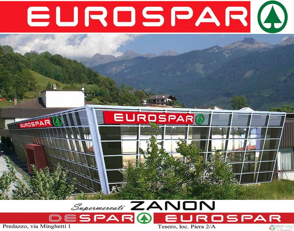 supermercati zanon eurospar tesero fiemme