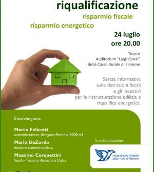 ristrutturazione e risparmio energetico fiemme