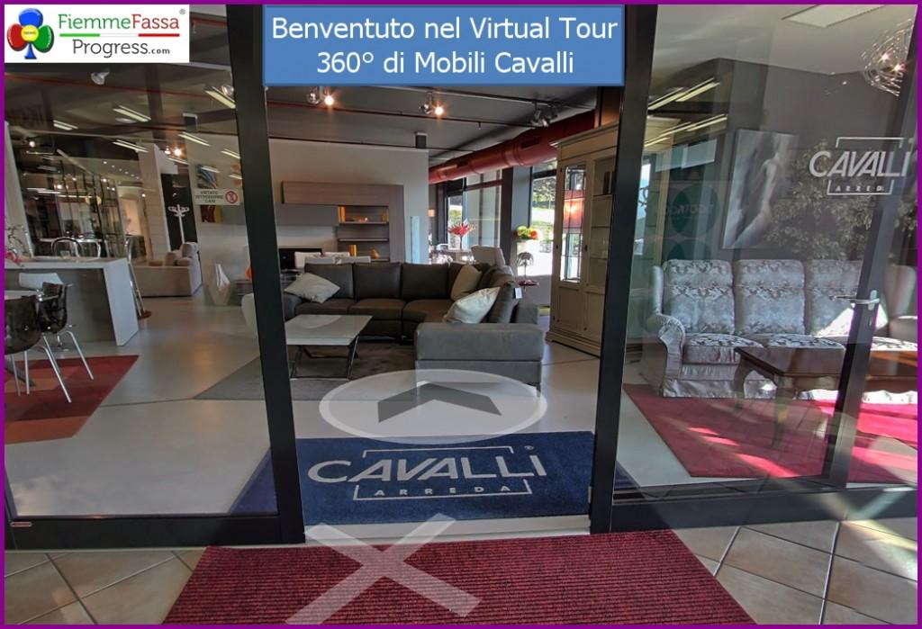 Tour virtuale dell 39 expo mobili cavalli di civezzano for Arredamenti cavalli