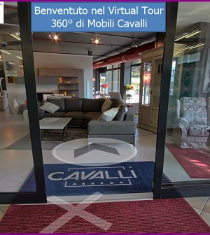 Tour virtuale dell\'expo Mobili Cavalli di Civezzano - Fiemme in Progress