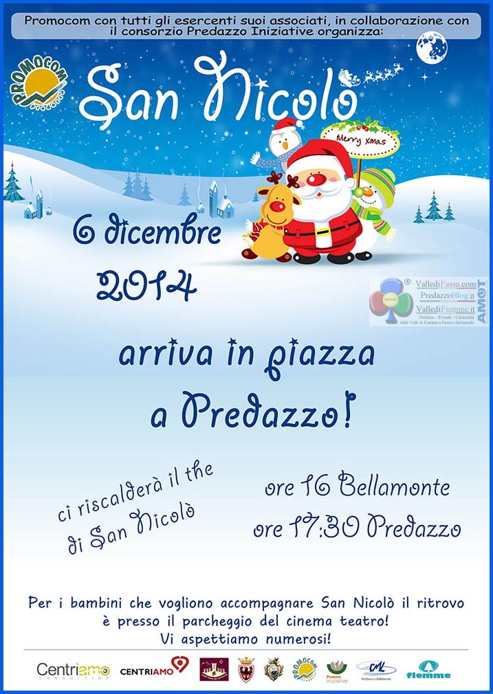 san nicolo predazzo 2014 Torna San Nicolò a Bellamonte e Predazzo