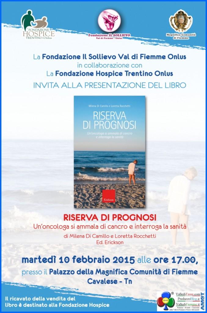 riseva di prognosi libro 678x1024 Riserva di Prognosi, presentazione libro a Cavalese
