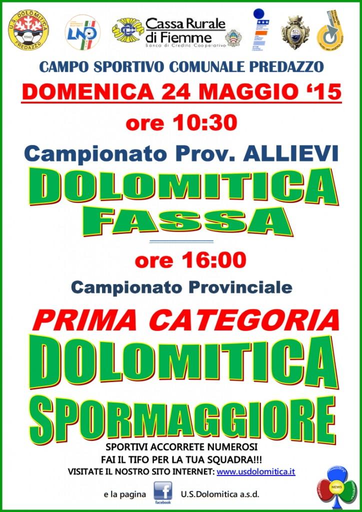 Dolomitica - Fassa e Dolomitica - Spormaggiore @ Campo Sportivo Comunale | Predazzo | Trentino-Alto Adige | Italia