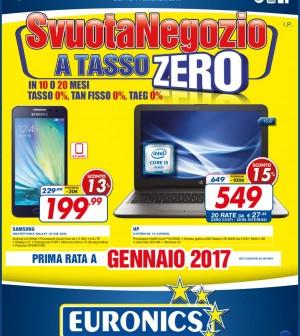 euronics elettrosoc tesero offerte settembre 2016