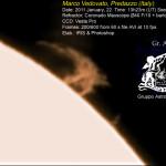esplosione solare fare predazzo blog 150x150 Tesero, Conferenza sulla Cometa ISON (una cometa a Natale?)