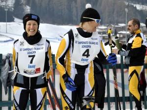 concorrenti campionati open lions Val di Fiemme 300x224 Sci e solidarietà, Lions in pista in Val di Fiemme