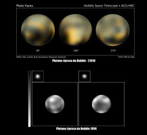 plutone hubble 300x276 18 febbraio: 81 anni dalla scoperta di Plutone