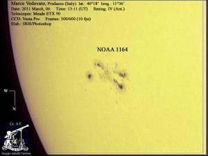 20110306 1311 vedo1 300x225 La foto della settimana esplosioni sul Sole