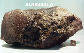 ImmagineALH 84001 Batteri extraterrestri in un meteorite?