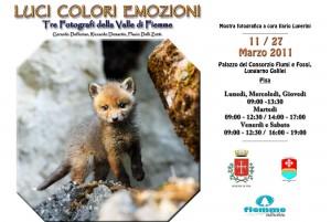 Manifesto Pisa Volpacchiotto tag 300x201 L'Avisio incontra l'Arno con una mostra fotografica