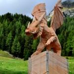 drago kromos di Marco Nones di Cavalese 150x150 LATEMAR PREDAZZO, primo Simposio DRAGHI DELLA SCULTURA