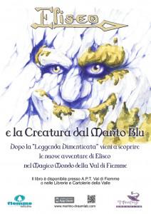 eliseo manto blu merlino dreamlab tomaso baldassarra dario cavada 212x300 ELISEO, LA CREATURA DAL MANTO BLU   La prima favola multimediale della Val di Fiemme