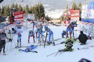 Traguardo atlete sfinite Tour de Ski 20121 300x200 Val di Fiemme   Tour de Ski 2012, GIRO GIRO FONDO...