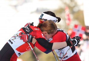 foto Newspower Tour de Ski 2012 Kowalczyk Bjoergen 300x206 Val di Fiemme   Tour de Ski 2012, GIRO GIRO FONDO...