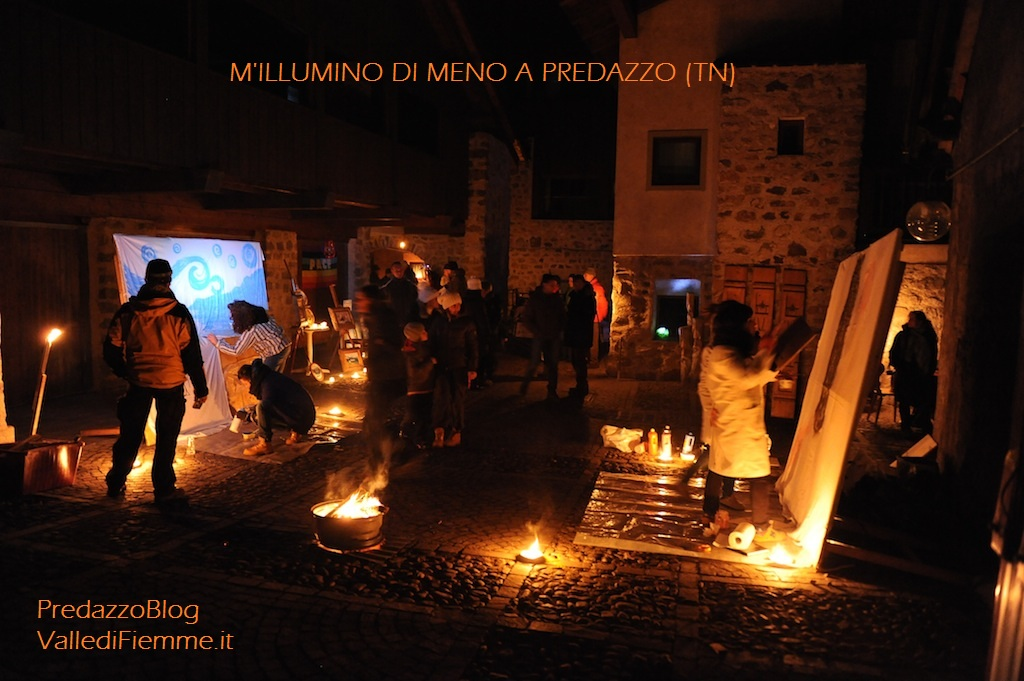 millumino di meno predazzo blog Cavalese al lume di candela per:  MIllumino di Meno 2012