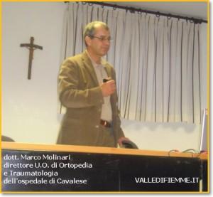 marco molinari valle di fiemme 300x277 Masi di Cavalese serata con il dott. Marco Molinari su artrosi e osteoporosi