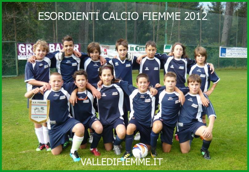 esordienti calcio fiemme 2012 valle di fiemme it Calcio Fiemme, retrocessa si ma in forte ripresa