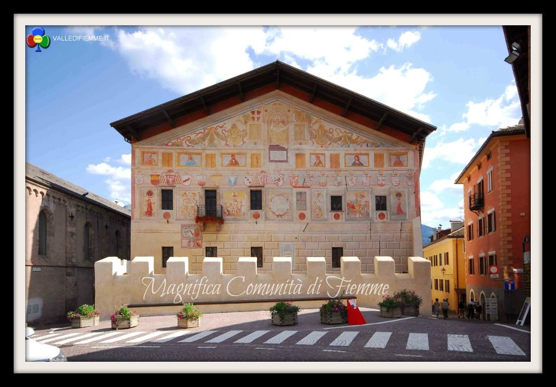 magnifica comunita di fiemme cavalese valle di fiemme it cornice Magnifica Comunità di Fiemme, da luglio matrimoni a Palazzo