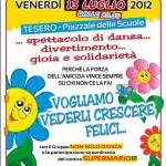 locandina danza bambi estate tesero 150x150 Gli artigiani di Fiemme solidali con le famiglie di  Antonio Gianmoena e Claudio Ventura