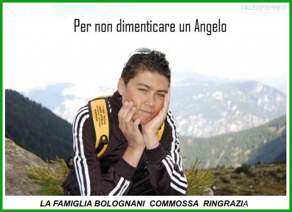 thomas bolognani famiglia ringrazia Thomas Bolognani, la famiglia commossa ringrazia.