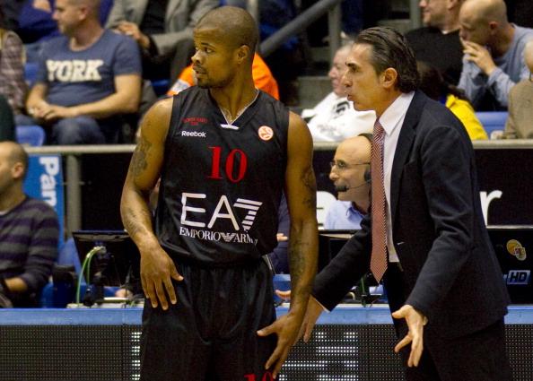 EA7 Armani's head coach Sergio Scariolo
