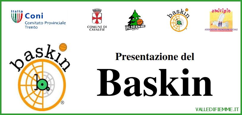 baskin fiemme cavalese Cavalese presentazione nuovo sport: BASKIN come scuola di vita