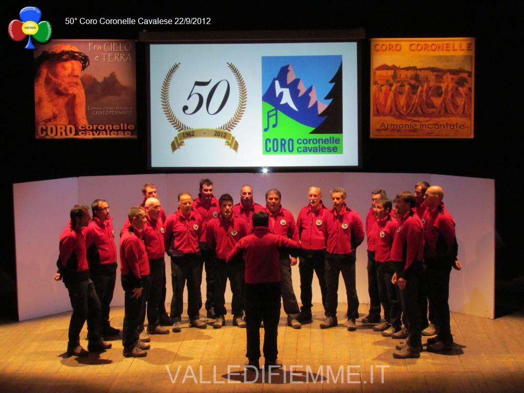 50esimo coro coronelle cavalese valle di fiemme it6 Foto