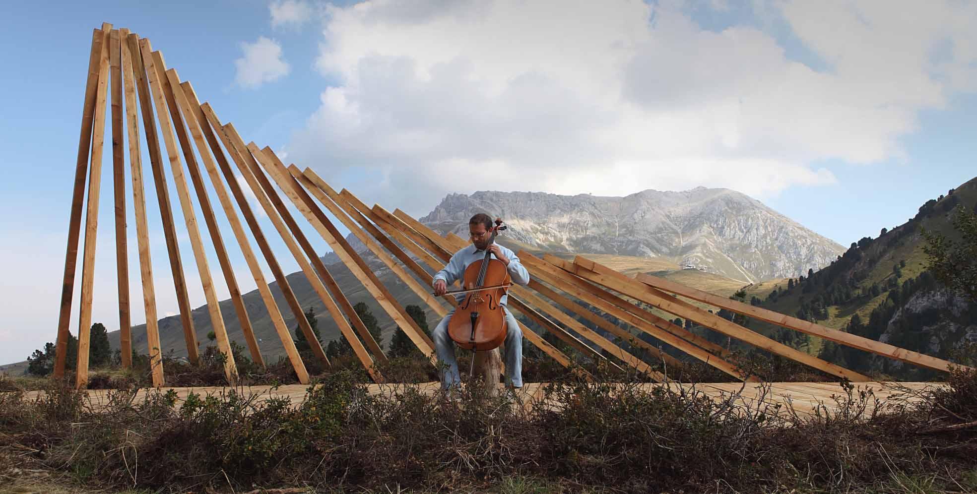 RespirArt TEATRO DEL LATEMAR di Marco Nones a Pampeago - foto Eugenio Del Pero 3p