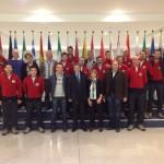image3 150x150 La Giunta Comunale di Cavalese a Bruxelles con il Coro Coronelle