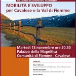 locandina mobilita e sviluppo fiemme 150x150 E VVAI: 15 hotel della Val di Fiemme promuovono la mobilità eco sostenibile. Ziano mette in pista una navetta e le biciclette gratuite