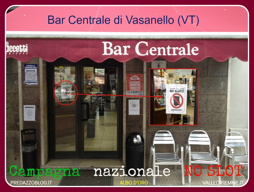 Bar Centrale di Vasanello VT ALBO D ORO NO SLOT valle di fiemme it Forum