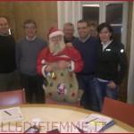 GIUNTA CAVALESE CON BABBO NATALE 150x150 Babbo Natale allOspedale di Fiemme a Cavalese