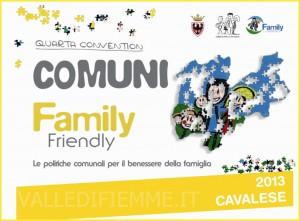 comuni family friendly valle di fiemme 300x221 Il marchio Comune amico della Famiglia a Cavalese e Varena