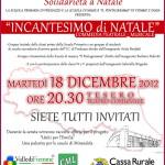 locandina incantesimo di natale valle di fiemme 150x150 Concerto D'Amore a Tesero con lAssociazione Bambi   11 dicembre 2011