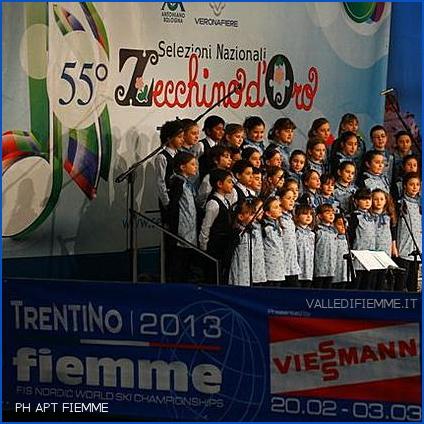 ZECCHINO DORO 2013 FIEMME In Valle di Fiemme il primo concerto per il 56° anniversario dello Zecchino d'Oro