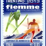 francobollo trentino fiemme 2013 mondiali sci valle di fiemme 150x150 Mondiali Fiemme 2013 le strutture in legno certificato PEFC