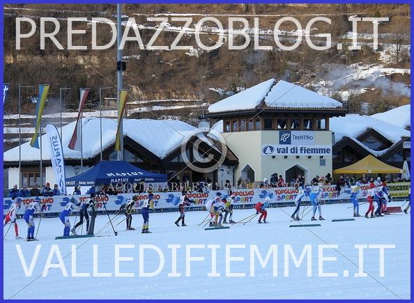 trofeo topolino 1 valle di fiemme it Trofeo Topolino 2013 Sci di Fondo a Lago di Tesero, in Valle di Fiemme