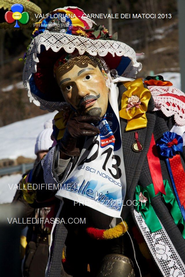 Carnevale dei matoci di valfloriana valle di fiemme ph massimo piazzi9 Foto