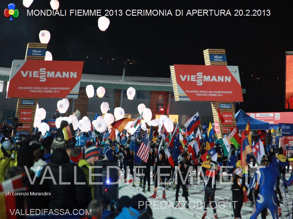 mondiali sci nordico fiemme 2013 cerimonia apertura lago di tesero ph lorenzo morandini valledifiemmeit26