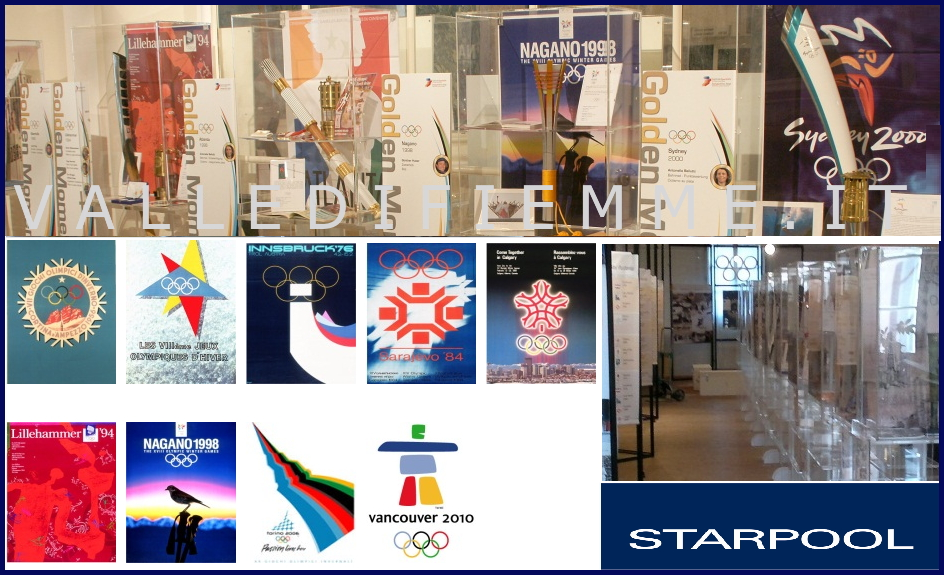 olimpic torch collection fiemme 2013 star pool