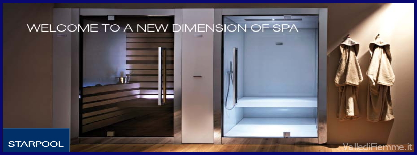 starpool welcome new dimension of spa fiemme Starpool  lo stile attorno al benessere