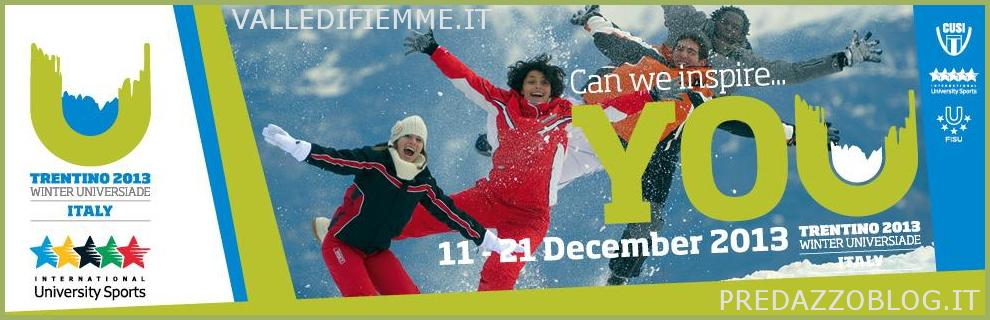 universiadi trentino 2013 fiemme predazzo winter universiade italy 2013 Universiadi Trentino 2013, volontari cercasi, il gazebo anche allo stadio del Fondo di Lago di Tesero