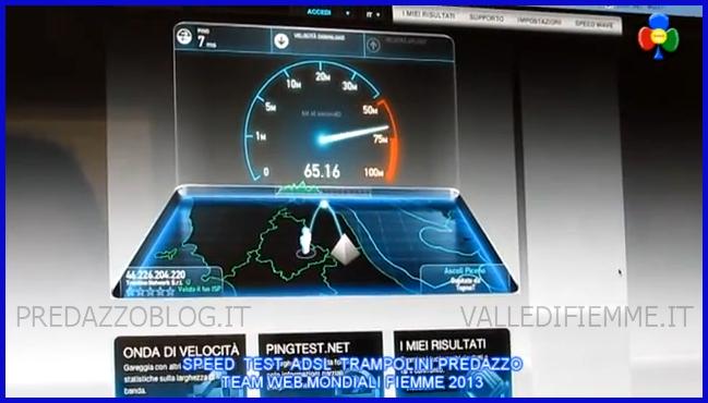 SPEDD TEST MONDIALI FIEMME ADSL TRAMPOLINI PREDAZZO