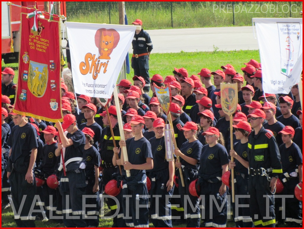 campeggio allievi vigili del fuoco fiemme 2013 In Valle di Fiemme il 13° Campeggio Allievi Vigili del Fuoco del Trentino 2013