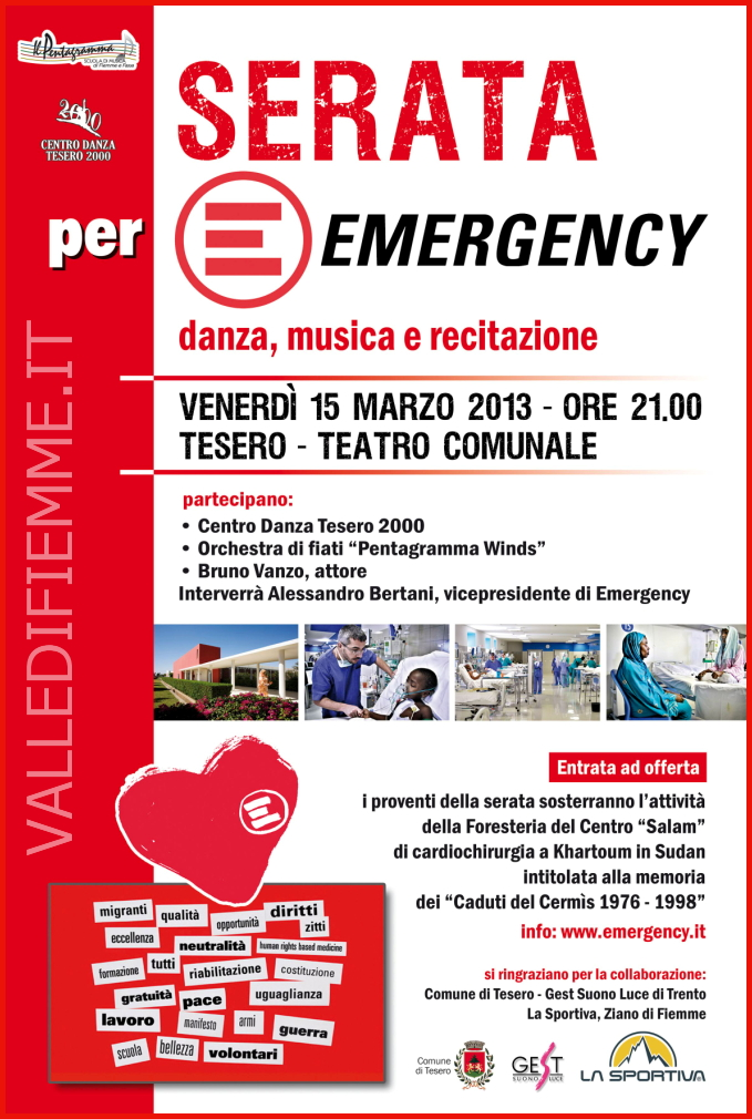 emergency tesero