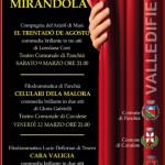 in teatro per mirandola fiemme 150x150 In Teatro per Mirandola: Cara Valigia il 6 aprile a Tesero