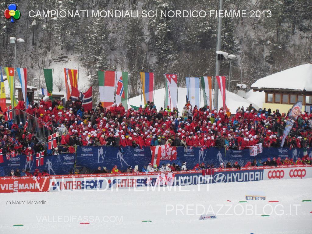 mondiali fiemme 2013 nordic ski world ph mauro morandini valledifiemmeit71 Val di Fiemme verso il 4° Mondiale? Un treno di sì