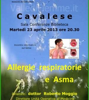 allergie respiratorie cavalese fiemme